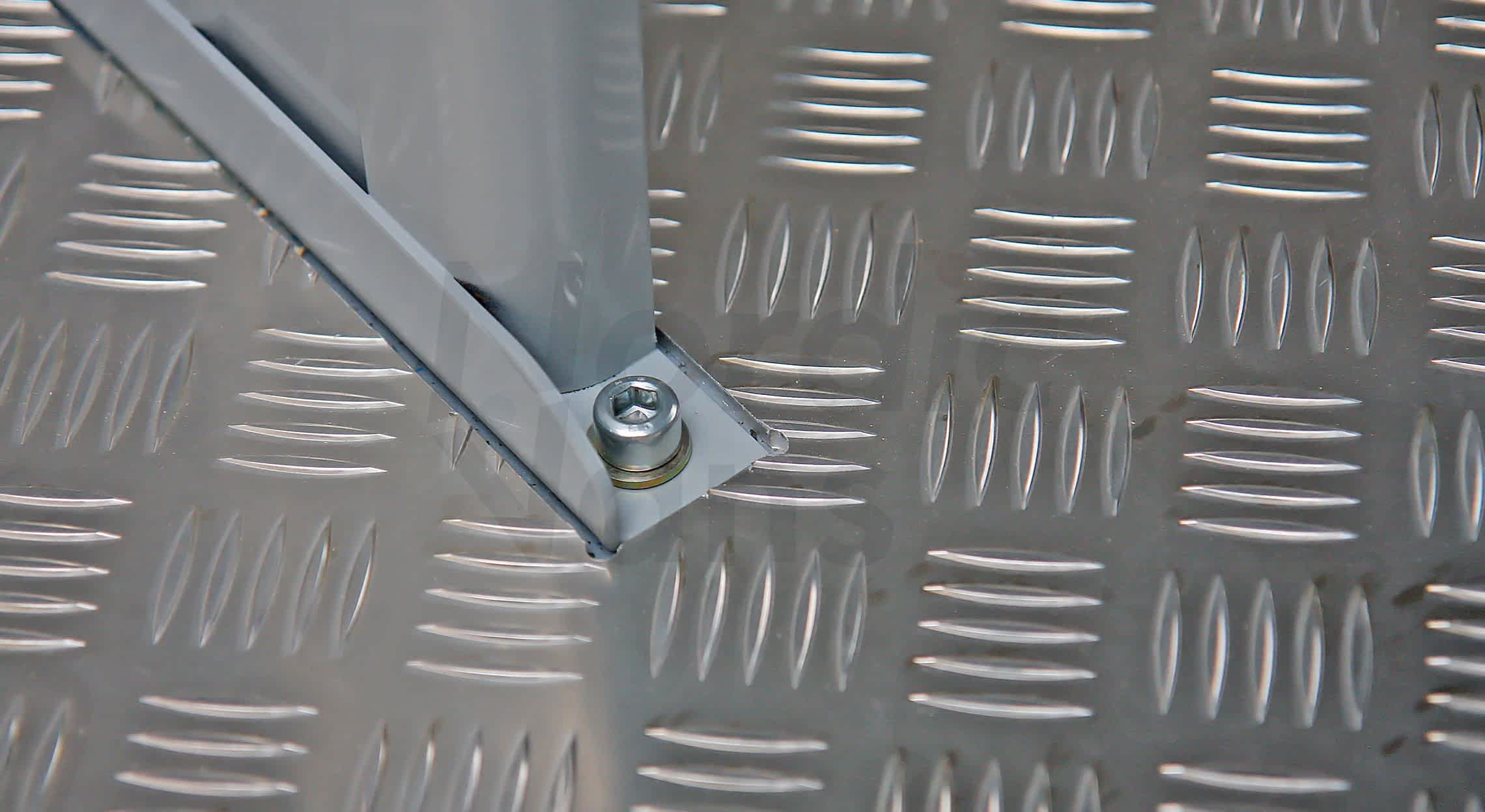 Алюминий «Квинтет» для обшивки фургона