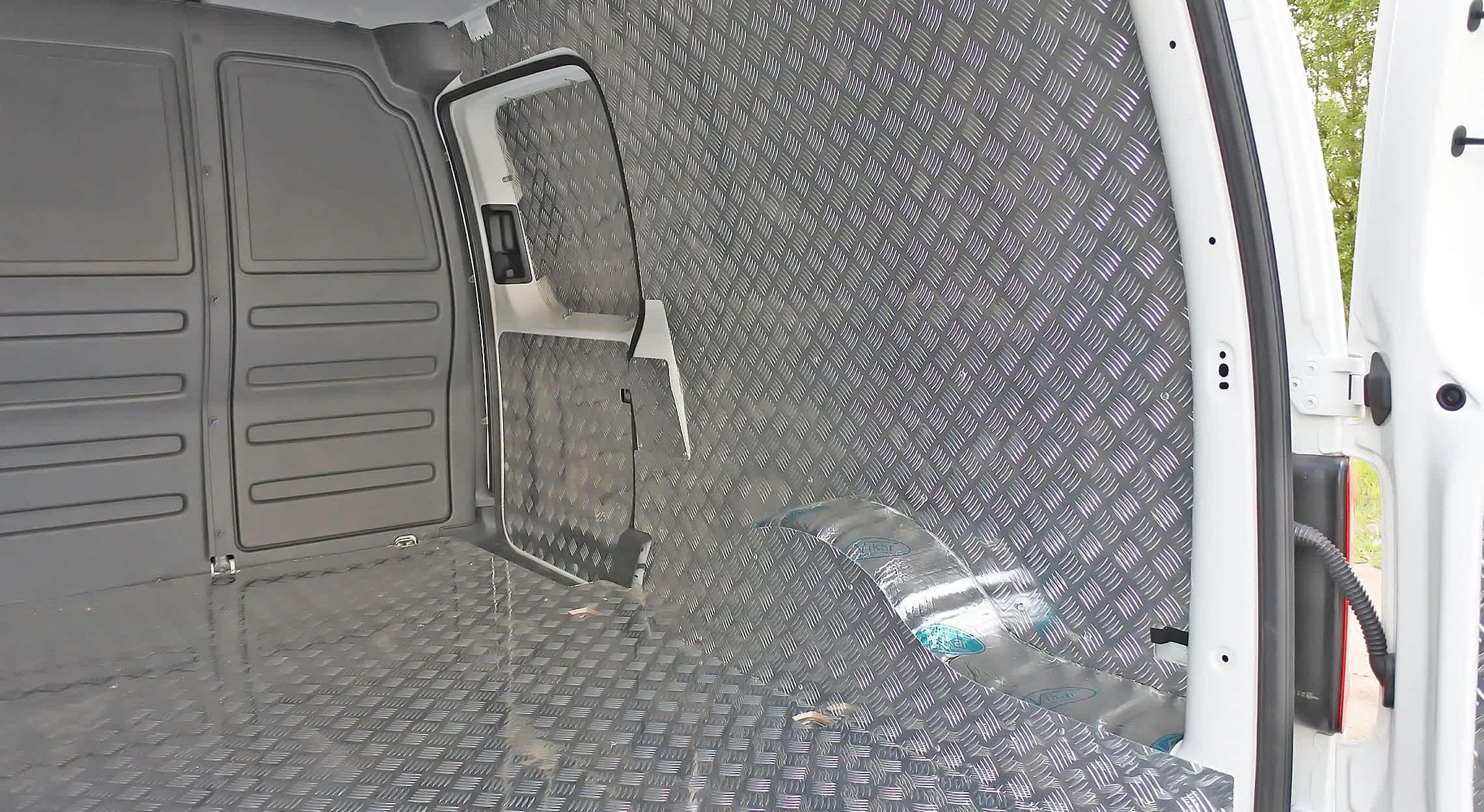 Обшивка фургона алюминием «Квинтет»